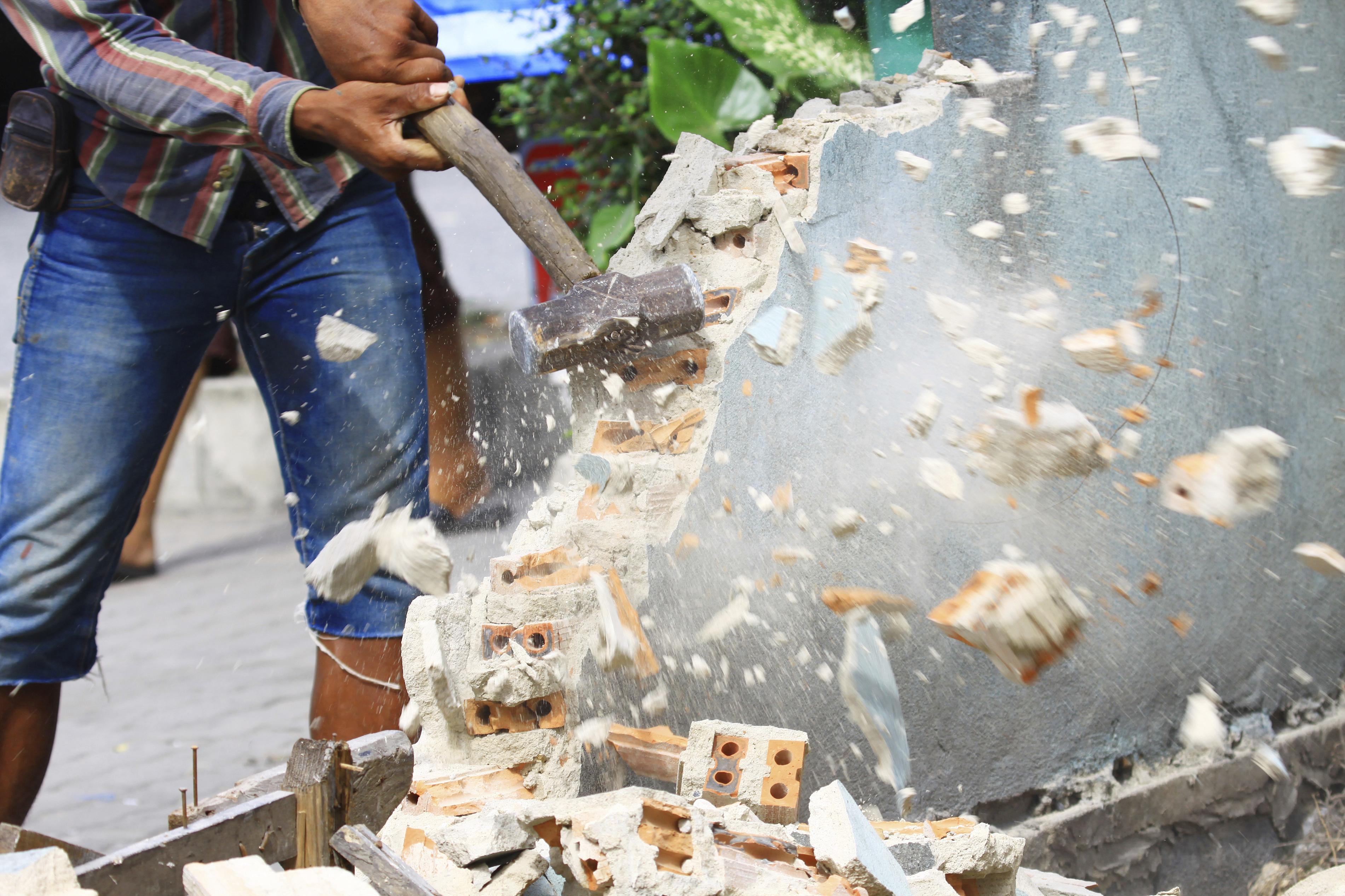 Methods Of Masonry Demolition In Maryland Demolition By