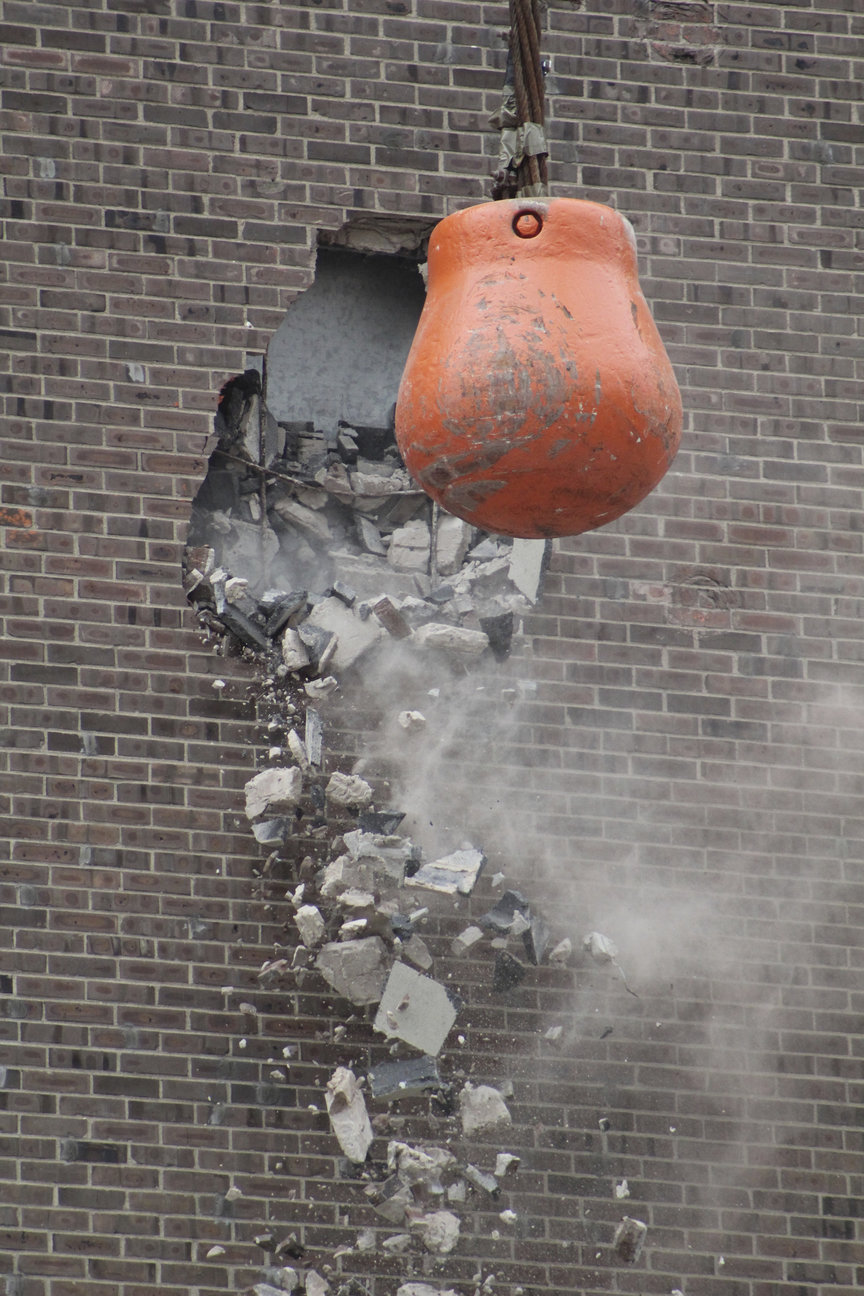 It Came In Like a Wrecking Ball: Springboro, OH Demolition ...
