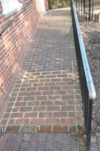 brick or concrete pavers
