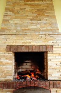 Cleaning Interior Brickwork