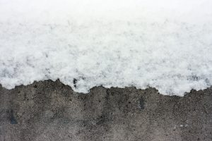 It's not always a good idea to apply deicing products to your sidewalks.