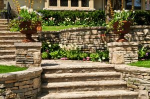 Natural stone is an eco-friendly material that gives any building or structure an elegant, timeless look!